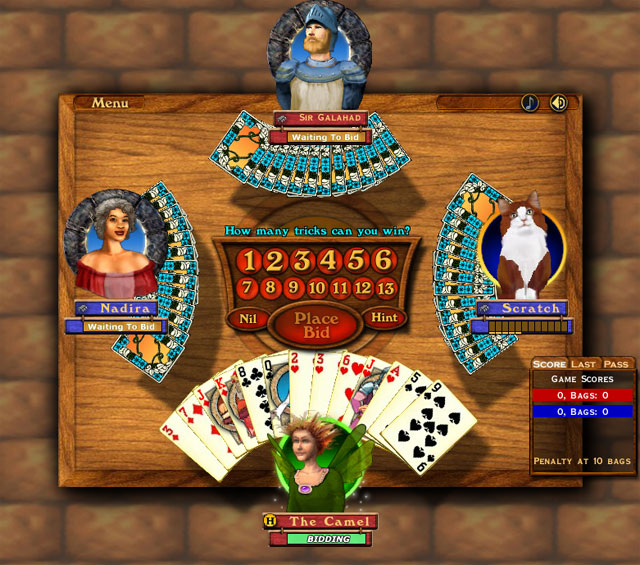 Play Hardwood Spades Demo Download